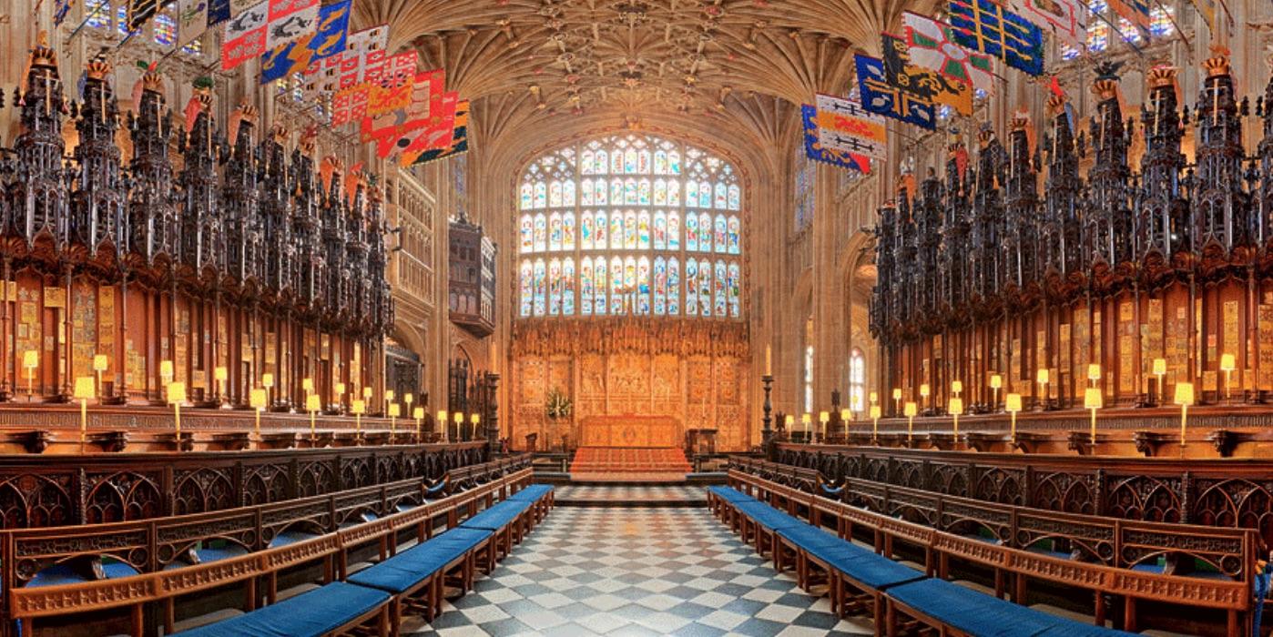 「ウィンザー城の聖ジョージ礼拝堂」の画像検索結果