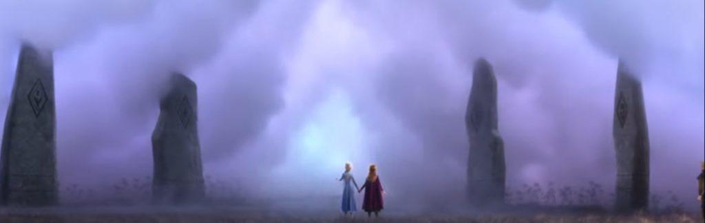 アナと雪の女王2 英語版予告 火、水、土、風