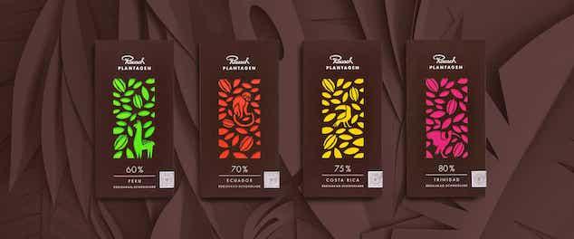 ドイツ観光お土産 チョコレートラウシュ
